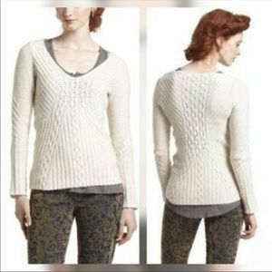 Anthropologie from far away sweater size M